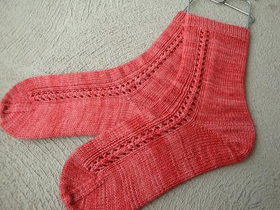 Blocked Socks - Craftsy.com