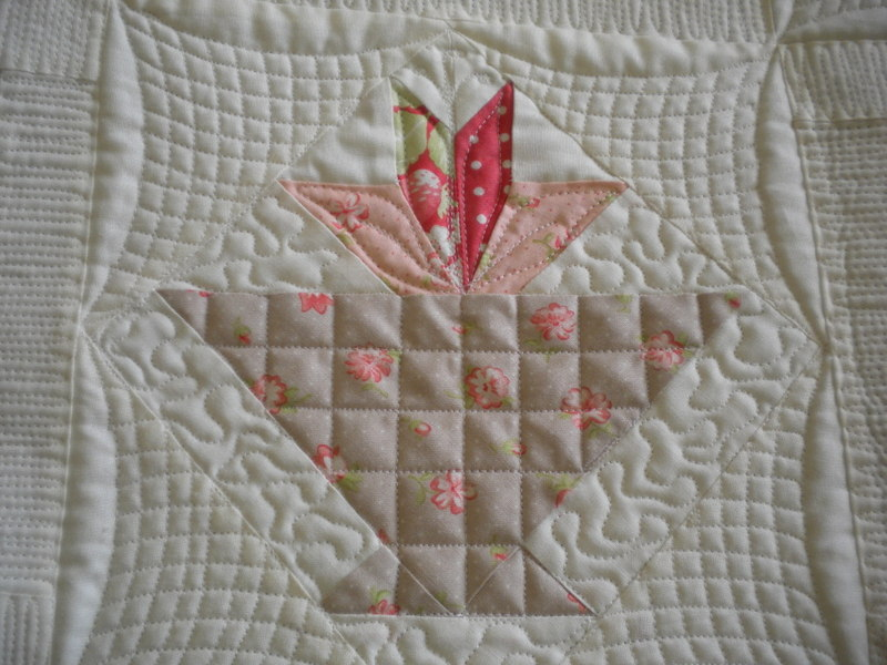 Quilted Basket Block