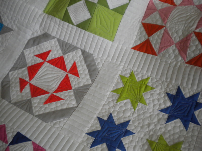 Quilt Sampler Using Quilt Sashing
