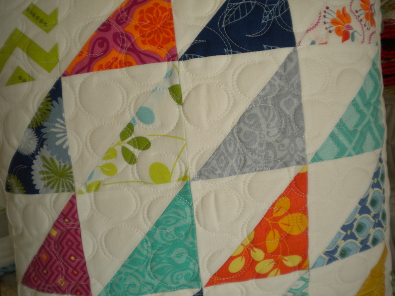 Quilt Made with Half Square Triangles
