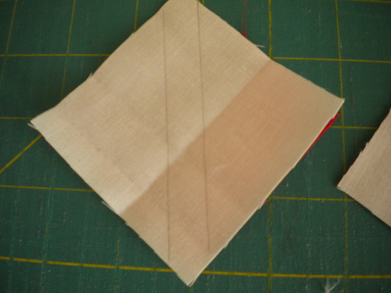 Beginning with Squares of Fabric