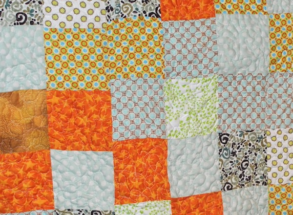 Quilt with Mis-Matched Rows - Common Quilting Mistakes