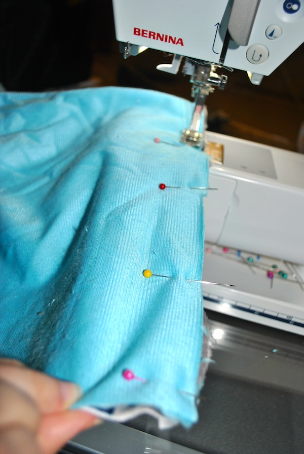 Sewing with Minky Fabric on the Machine