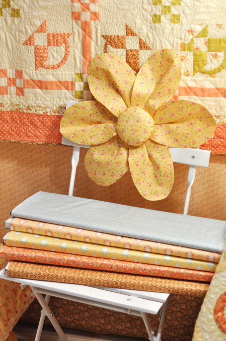 Petite Fours, Stacks of Fabric
