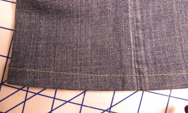 Pair of Jeans - How to Hem a Pair of Jeans