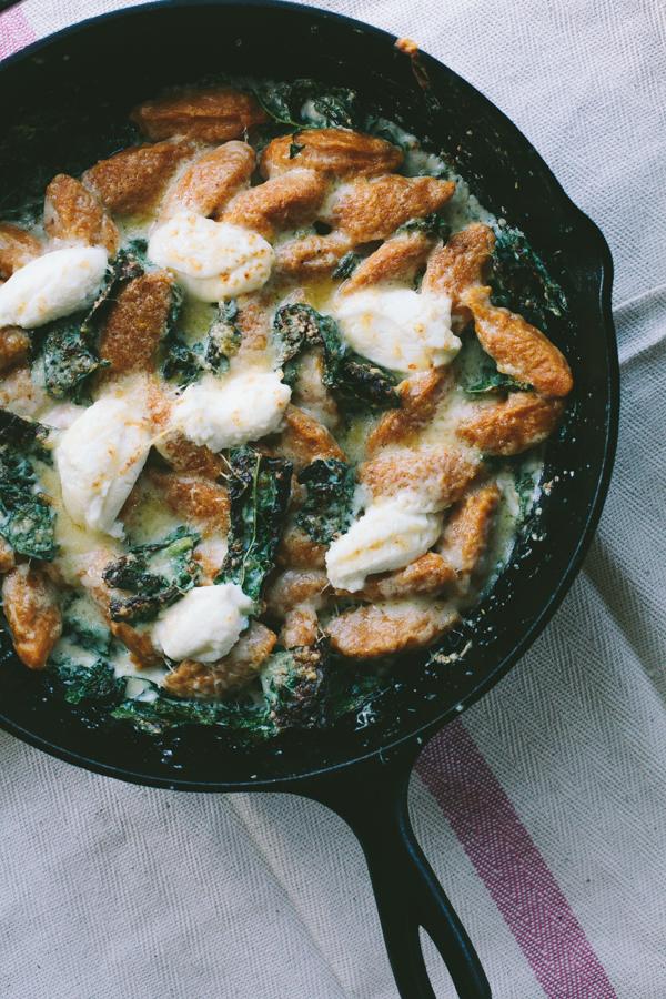 Butternut Squash Gnocchi in Pan