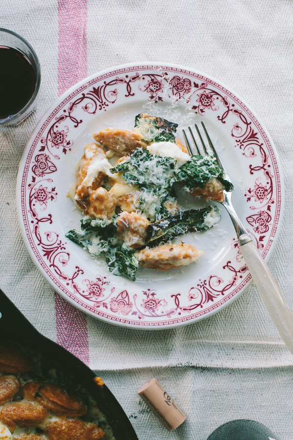 Beautiful Plate of Butternut Squash Gnocchi