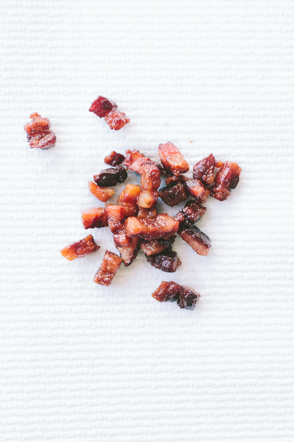 Cooked Pancetta Pieces
