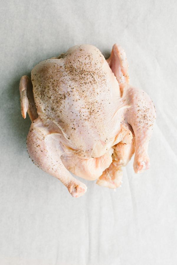 Uncooked, Seasoned Chicken