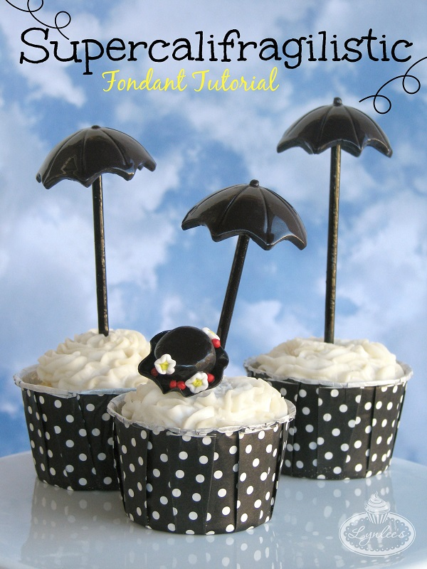 Fondant Umbrella Tutorial - Cover Photo on Bluprint