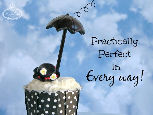 Mary Poppins Cupcake!