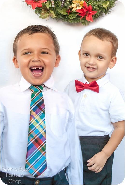 Little Boy Tie Pattern - on Bluprint.com