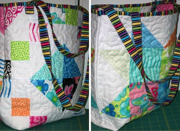 Quilted  Tote - Bluprint