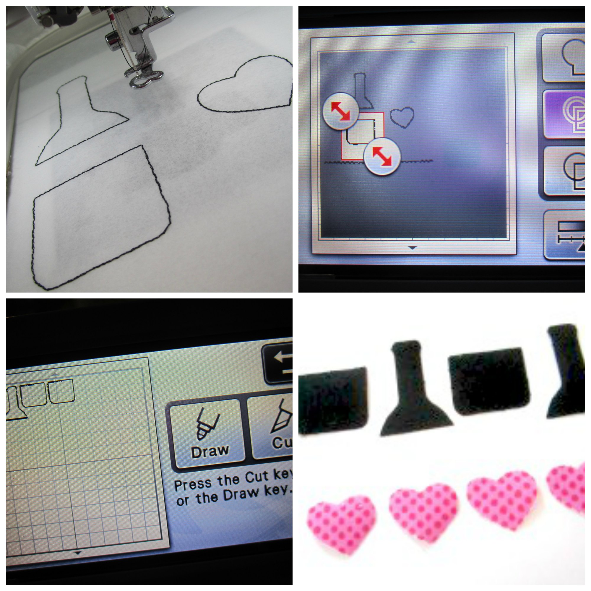Creating Digital Embroidery Machine Applique Designs