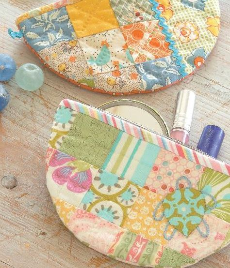 Colorful Patch Accessory Case