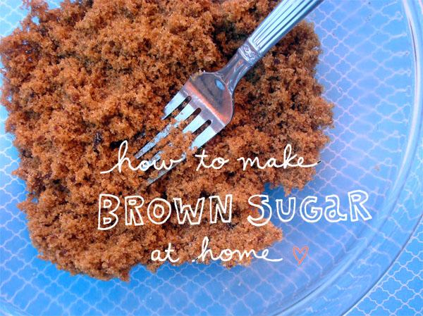 Brown Sugar - How to Make Brown Sugar at Home