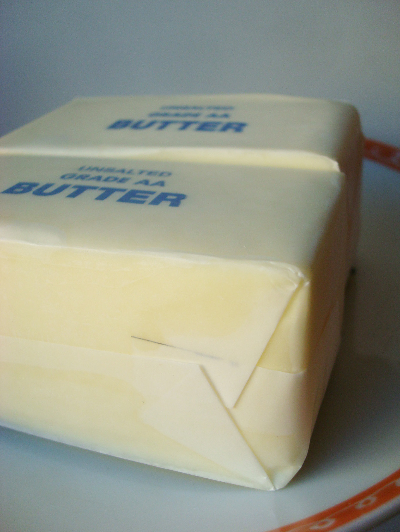 Wrapped Sticks of Butter