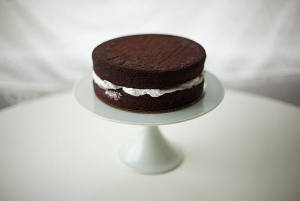 Stacked Chocolate Cake