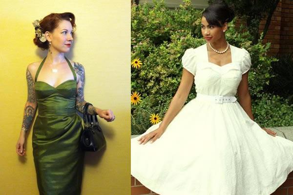 Vintage Dresses - www.craftsy.com