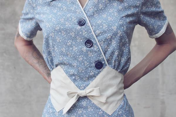 Bluprint.com - Blue Vintage Dress
