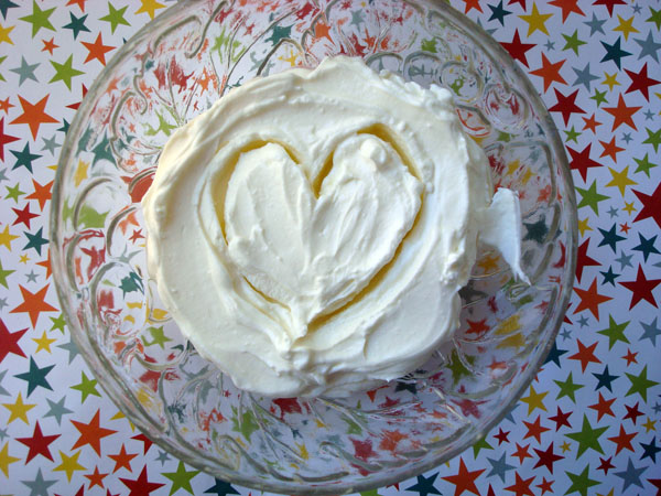 Crème Fraîche in a Bowl, with Heat