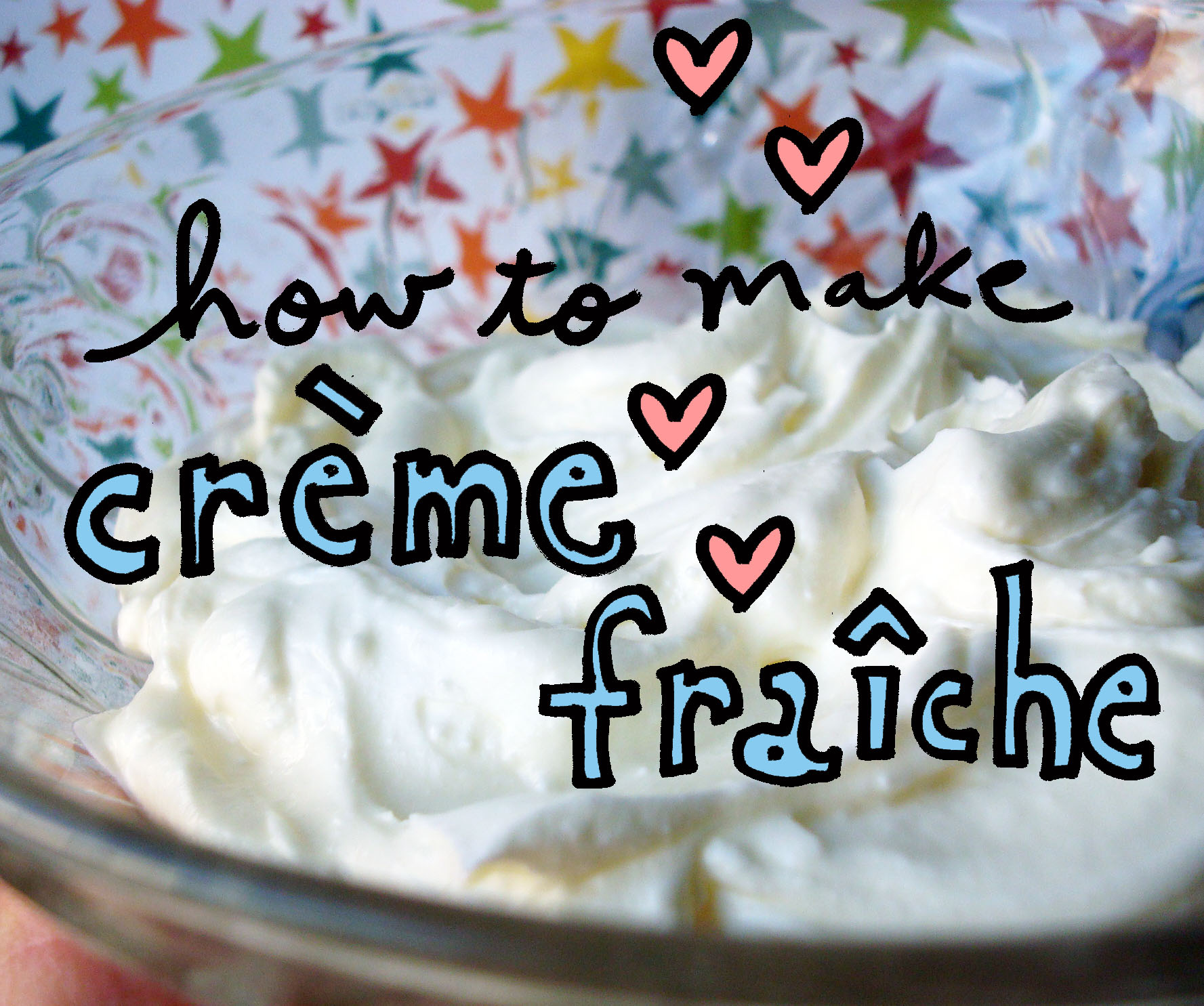Illustration for How to Make Creme Fraiche - Craftsy Blog
