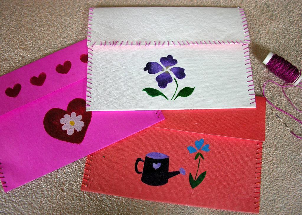 Paper Envelopes - Free Paper Crafts Pattern