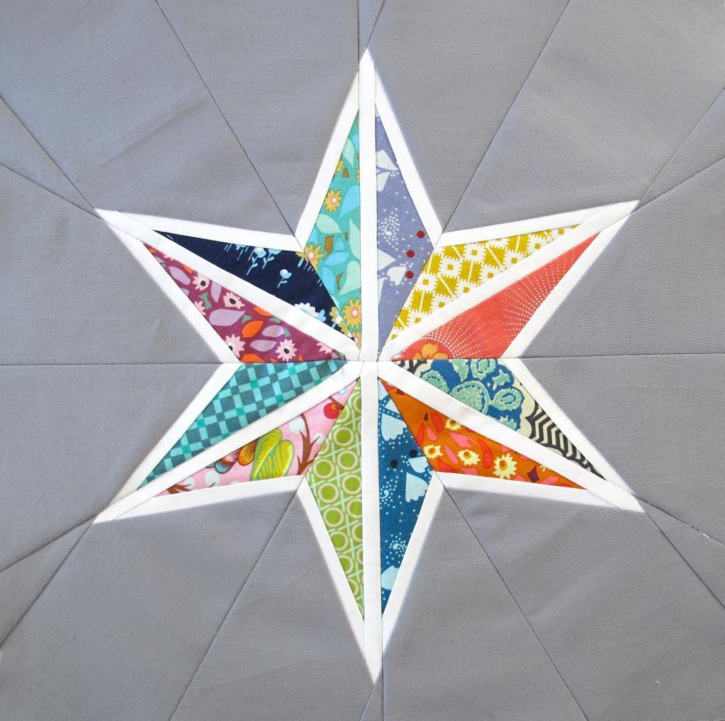 Star Quilt Block - Free Pattern on www.craftsy.com
