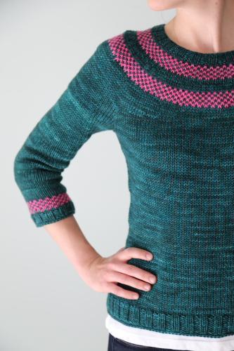 Lysa knit pullover