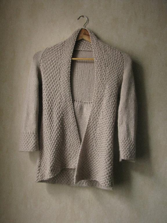 Knit snowcloud cardigan