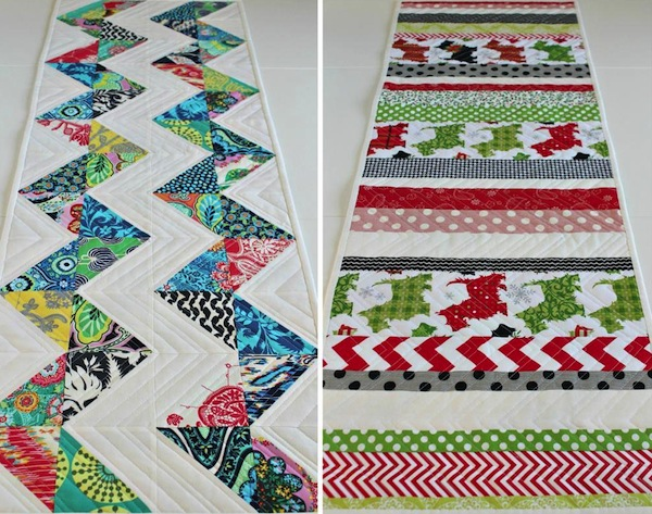 Patterned Holiday Table Runners