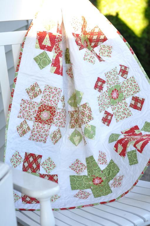Christmas Baby Quilt - Free Pattern