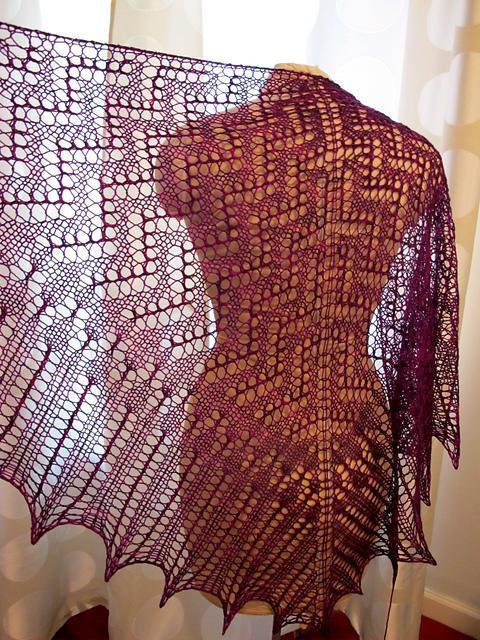 Free Pattern - Lace Shawl