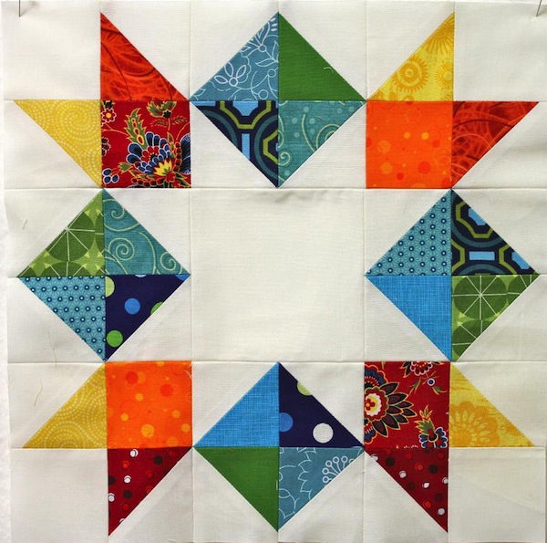 Inverted Quilted Star