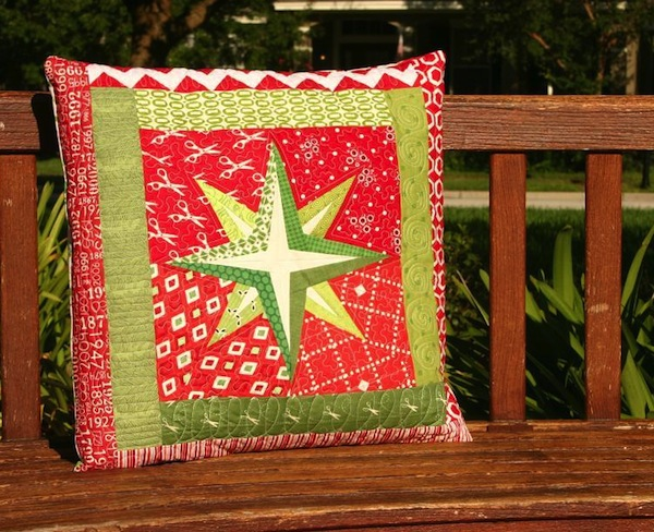 Free Craftsy Pattern - Quilted Star Pillow