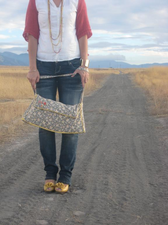 Bluprint Free Sewing Pattern: Handbag