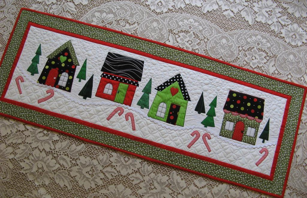 Holiday House Quilt - Pattern on Bluprint