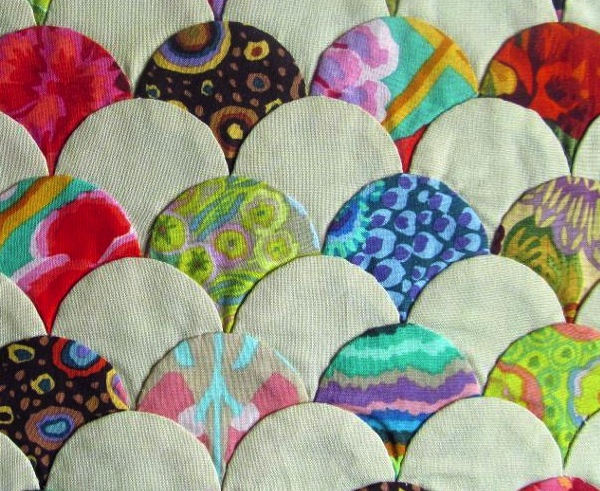 Pieced Clamshell Quilt - Project by Bluprint Member