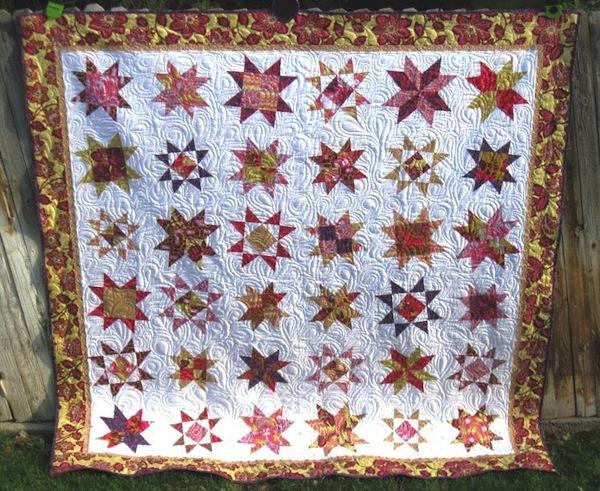 Stars Quilt on Craftsy