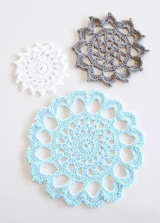 Crocheted Trivet - Free Pattern