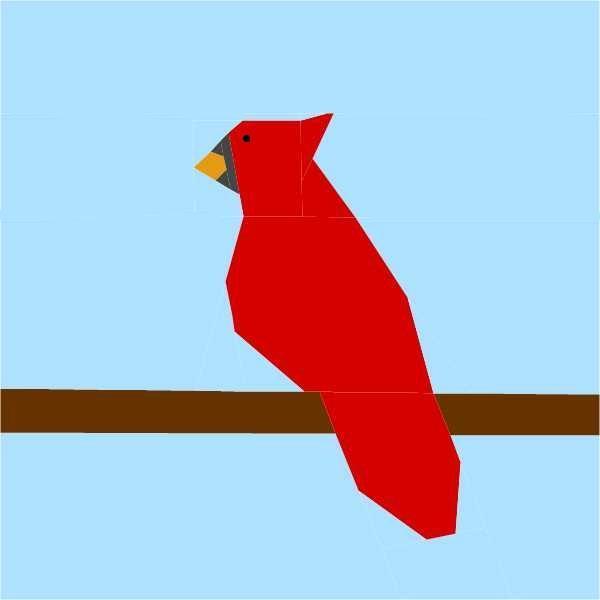 Cardinal Quilt - Pattern on Bluprint.com
