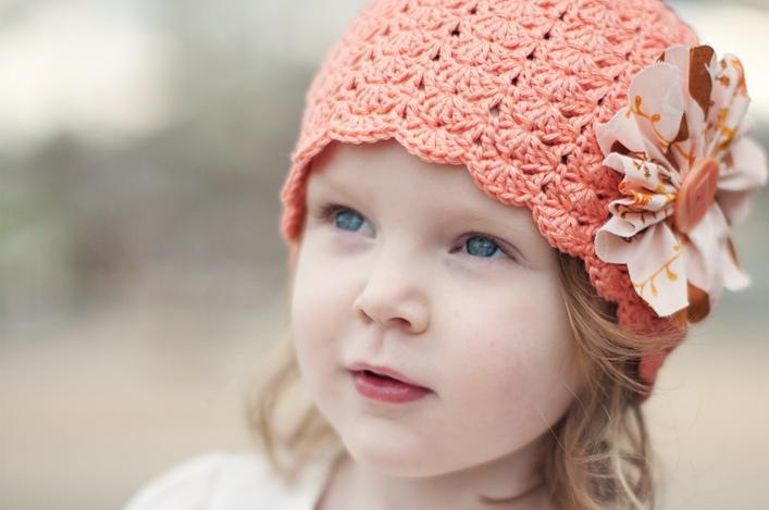 Little Girl's Crocheted Hat