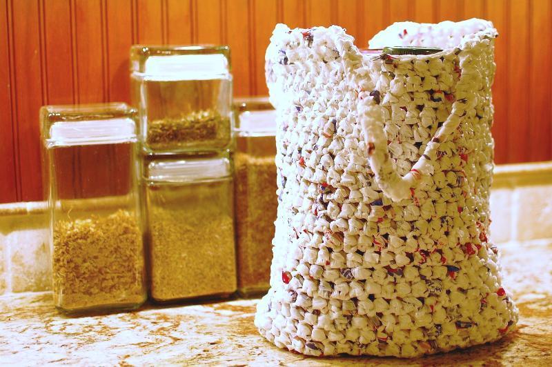 Plarn Grocery Bag - Bluprint
