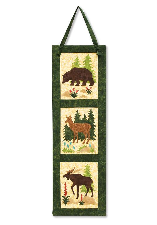 Quilted Wildlife Hanging Quilt- Pattern on Bluprint.com