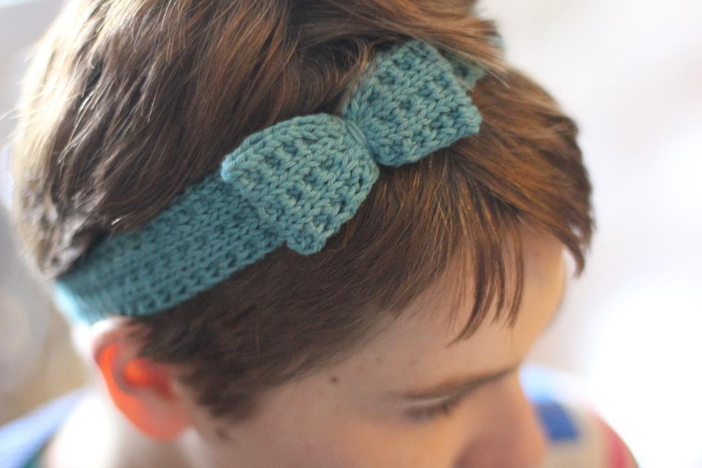 Knit Headband - Bluprint