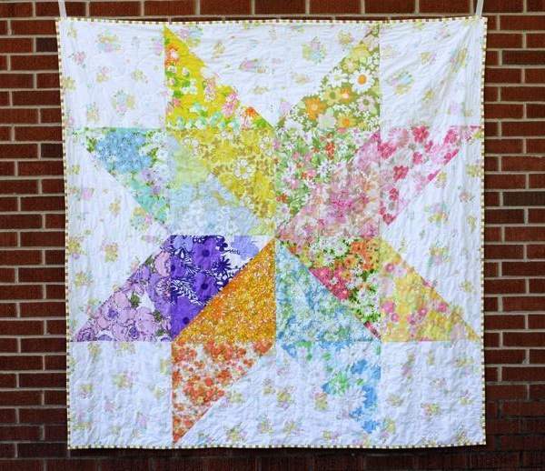 Vintage Star Quilt - Pattern by Craftsy Member