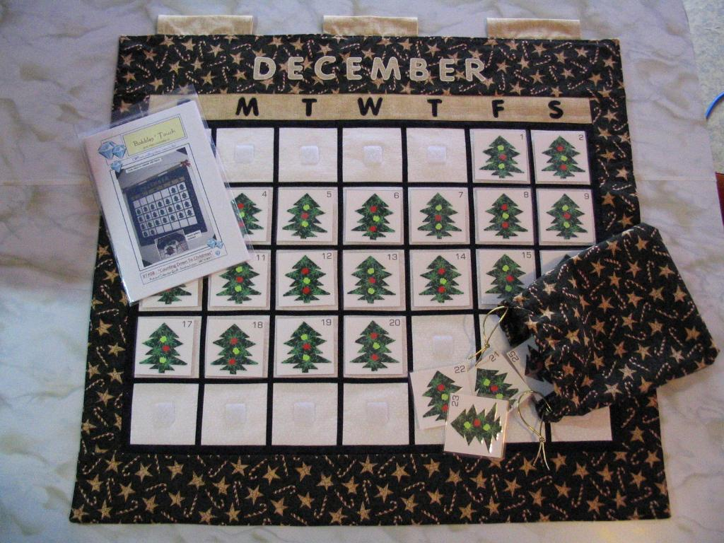 Quilted Christmas Calendar