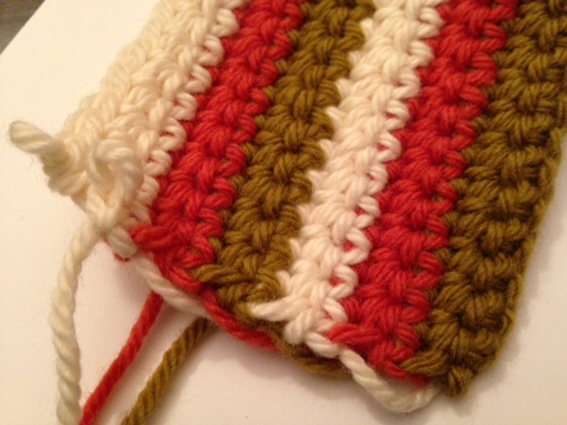 changing color in crochet