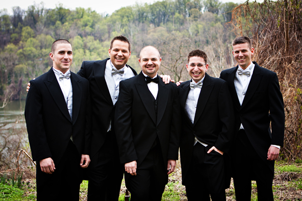 Group Photograph of Groomsmen
