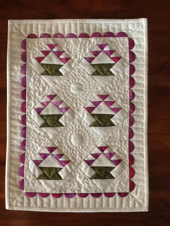 Mini Baskets Quilt
